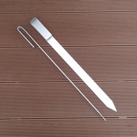 Kolíky do země k uchycení podpěr rostlin (30 cm)