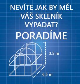 Konfigurátor skleníku - DobrýSkleník.cz